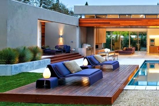 Como aprovechar mi terraza con una tarima exterior for Como hacer una piscina en una terraza