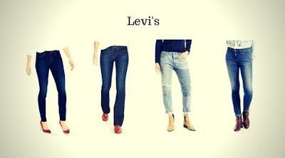 Calças Jeans Femininas da Levis