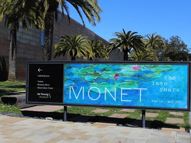 monet, de young museum, San Francisco museum