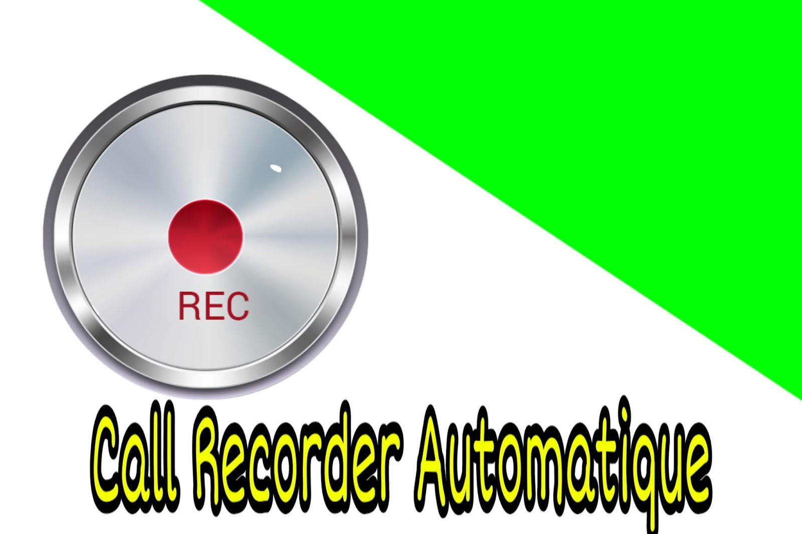 تطبيقات تسجيل المكالمات