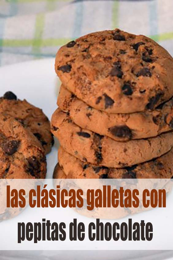 Cookies, las clásicas galletas con pepitas de chocolate