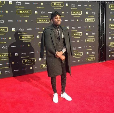 Image result for Davido  mtv base africa awards 2016 red carpet