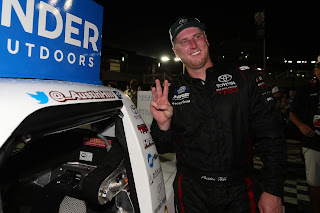 #Winner Austin Hill - #NASCAR Gander Outdoors Truck Series