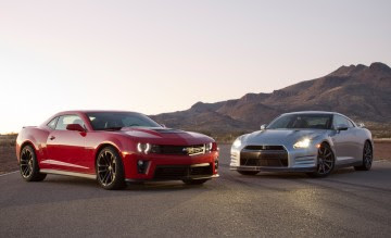 Camaro Zl1 Vs Nissan Gt R Road And Track