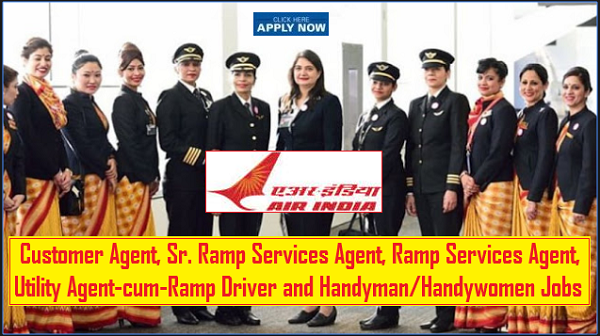 AIATSL Recruitment for 75 Customer Agent, Ramp Services Agent Posts