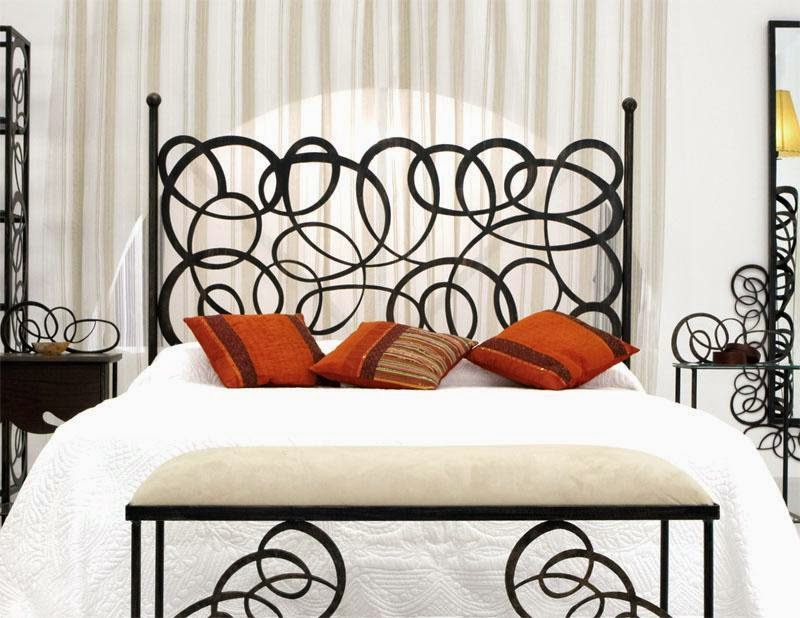 Dormitorios en forja cabeceras de hierro camas de metal - Dormitorios de forja modernos ...
