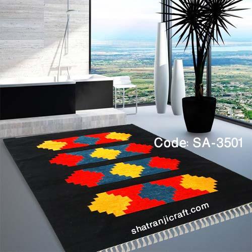 Living room Satranji floor mat SA-3501