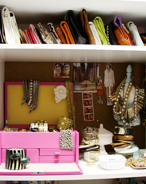 ABOVE: Bradley From Luella June Blog Shares With Us Her Favorite Part Of  Her Closet!