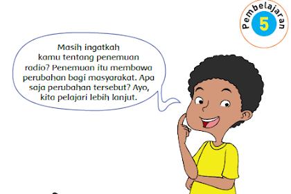 Kunci Jawaban Buku Siswa Kelas 6 SD Tema 3 Halaman 143, 144 dan 145
