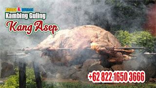 Kambing Guling di Lembang, kambing guling lembang, kambing guling,