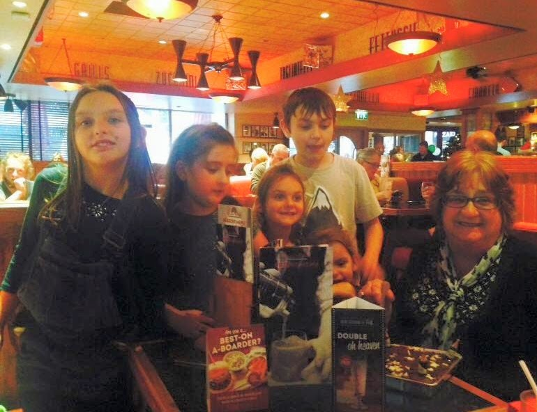 , Eating out in Carmarthen – Mum's Birthday