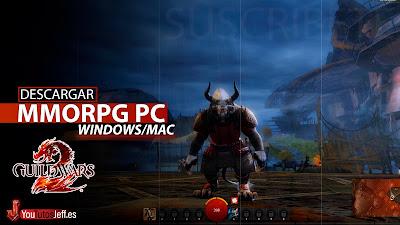 el mejor mmorpg para pc, descargar Guild Wars 2