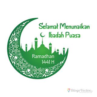 Ramadhan 1441H (2020) Logo vector (.cdr)