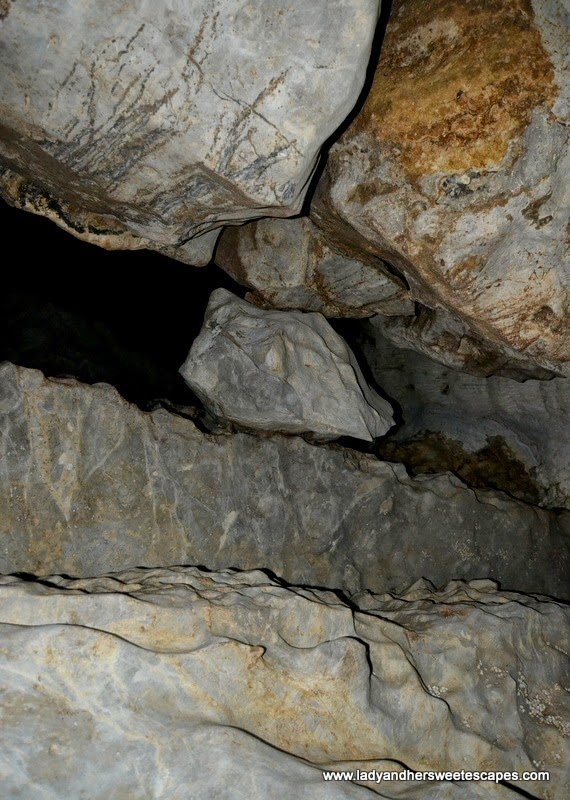 inside Ugong Rock Cave in Puerto Princesa