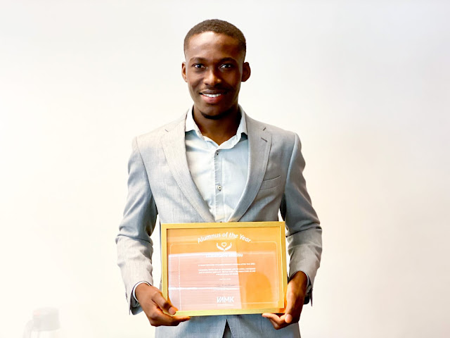 Ghanaian Wins First Ever Alumnus of the Year Award in Finland
