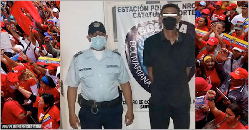 Chavista detenido in-fraganti cuando trataba de abusar de una niña en el Zulia