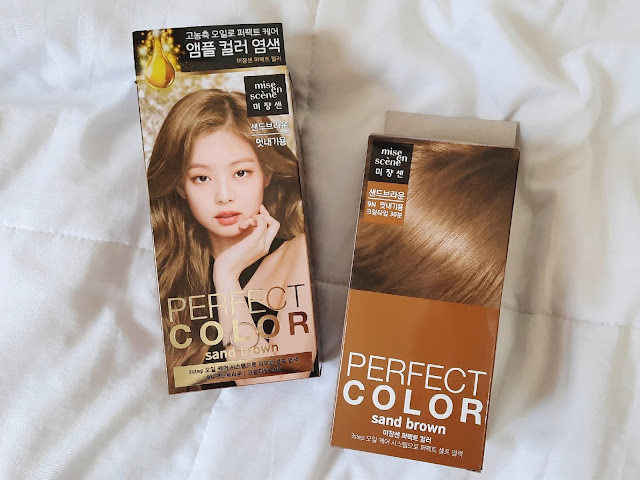 Blackpink hair dye