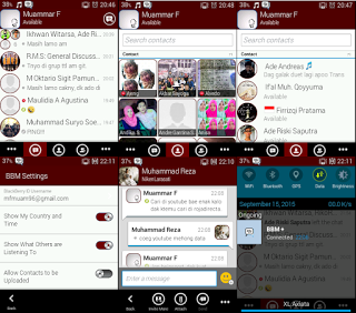 BBM MOD GINGERBREAD DARK RED