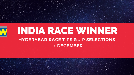 Hyderabad Race Selections 1 December