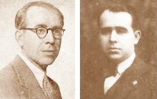 Los ajedrecistas Ricard Guinart y Francesc Armengol