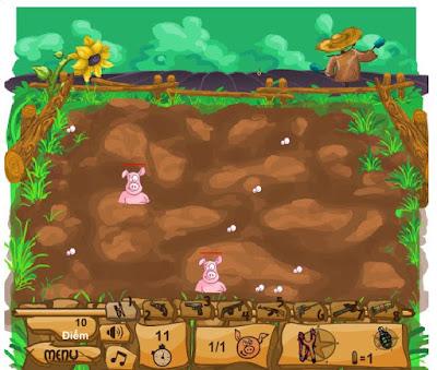Chơi game bắn lợn online hay nhất