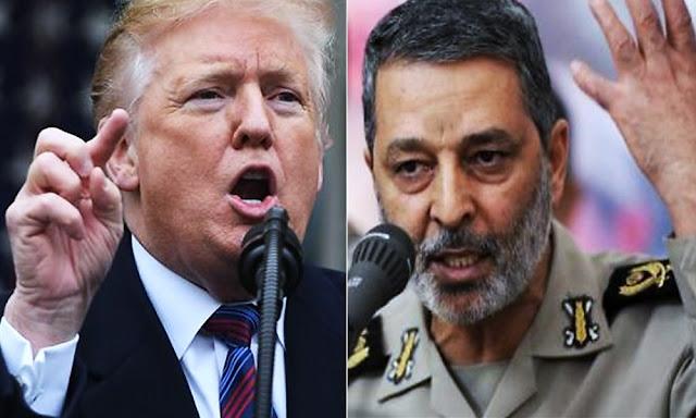 """Abdolrahim Musavi, el Ejército iraní """"duda"""" que Trump se atreva a cumplir sus amenazas de Donald Trump"""