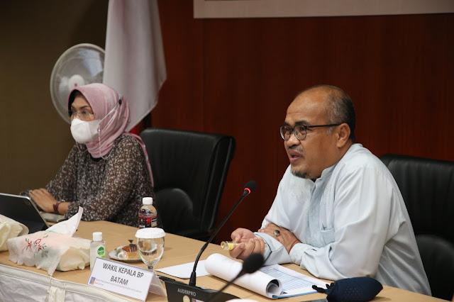 Direktur PPK BLU dan Dirjen Perbendaharaan Kementerian Keuangan RI Kunjungi BP Batam Untuk Memberikan Arahan dan Tugas