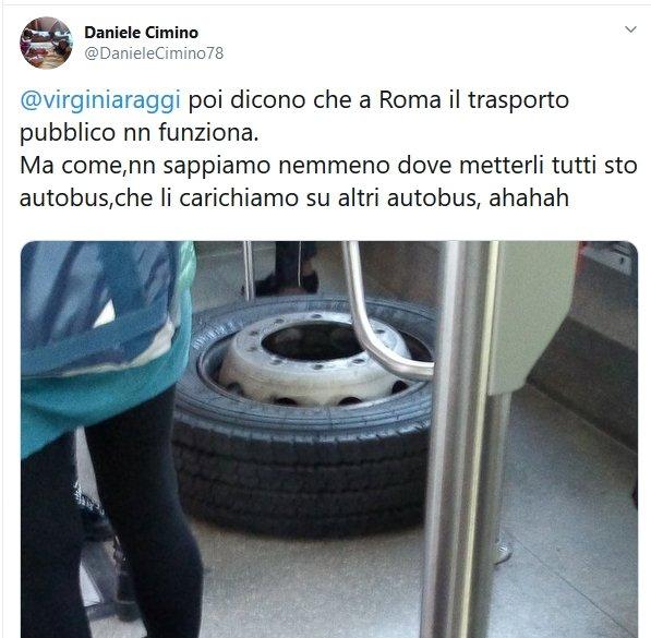 Situazione del trasporto pubblico di Roma di giovedì 31 ottobre