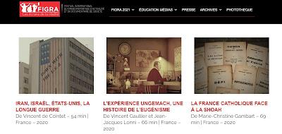 Page web du Figra