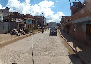 Região pobre na saída de Cusco / Peru, subindo para Urubamba / Peru.