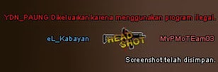 Cheat Blocker Mengusir Cheater dan Memutuskannya dari Server Point Blank