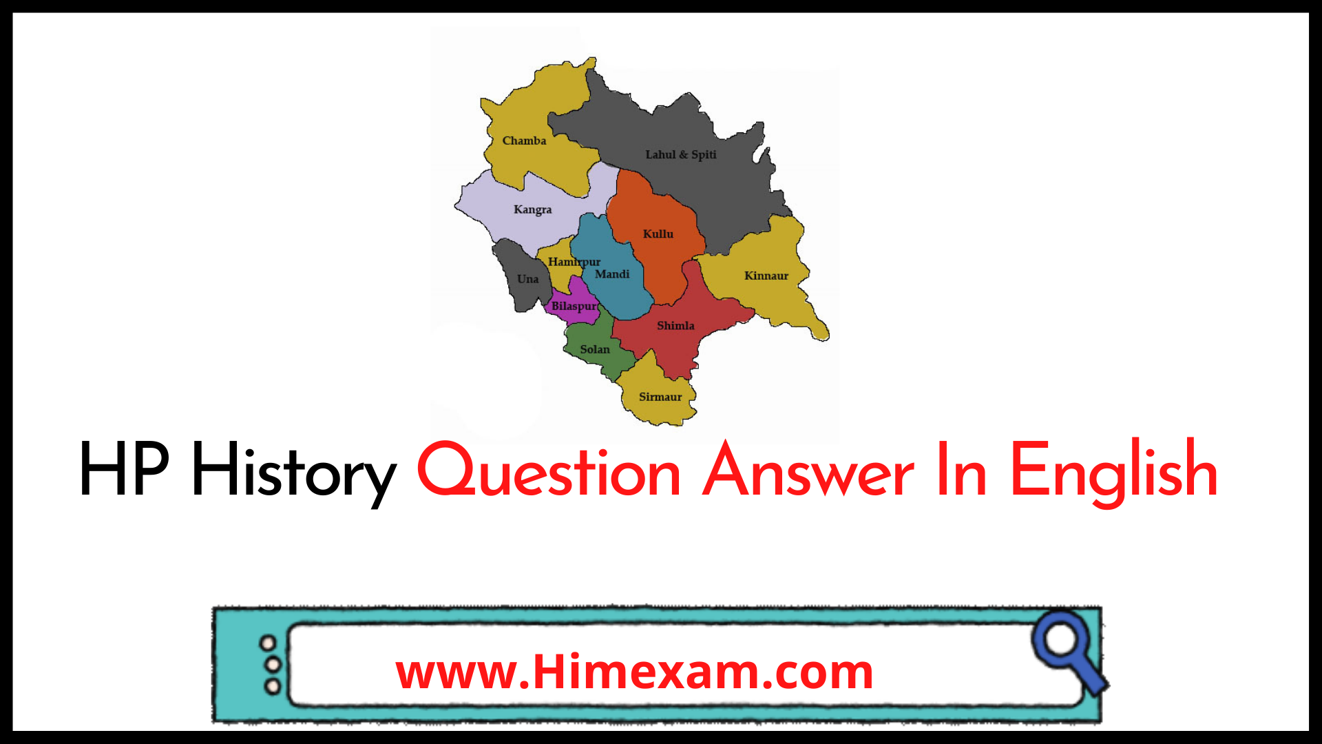 HP History Question Answer In English
