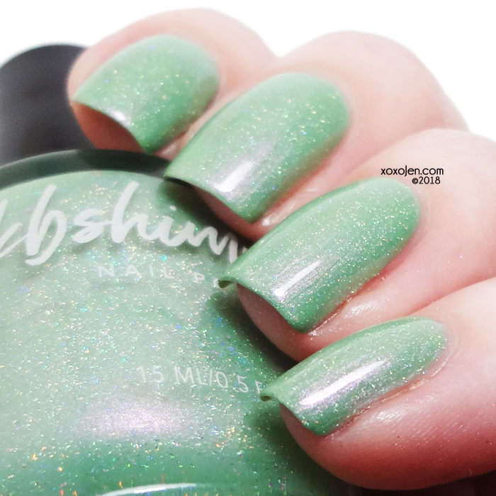 xoxoJen's swatch of KBShimmer Cactus If You Can
