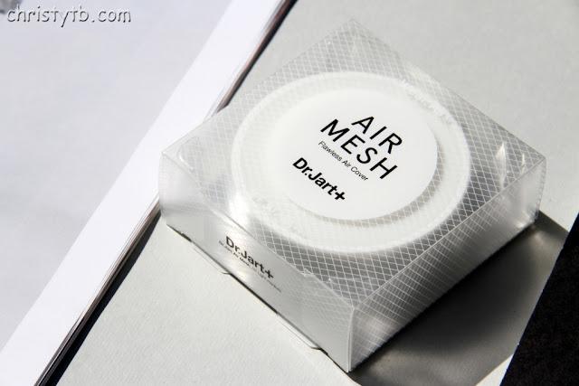 Кушон Dr.Jart+ Air Mesh SPF 30 — компактный ВВ Крем-вуаль Невесомый тон