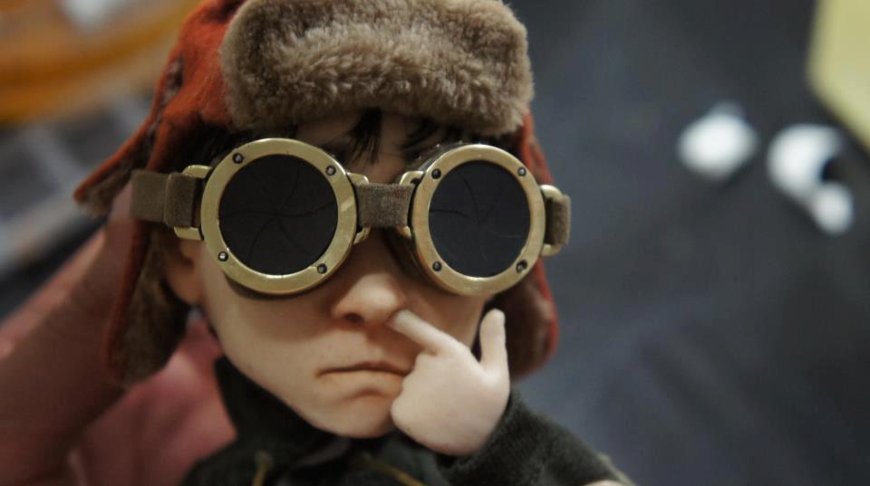 vista de uno de los personajes del cortometraje Elena y Las Sombras
