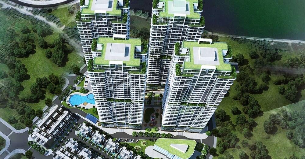 Phối cảnh Linh Đàm Premier City