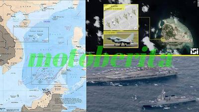 sengketa kepulauan paracel china siapkan jet dan amerika datangkan kapal induk siap tempur