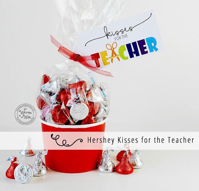 It's Written on the Wall: Teacher Appreciation Gift ...