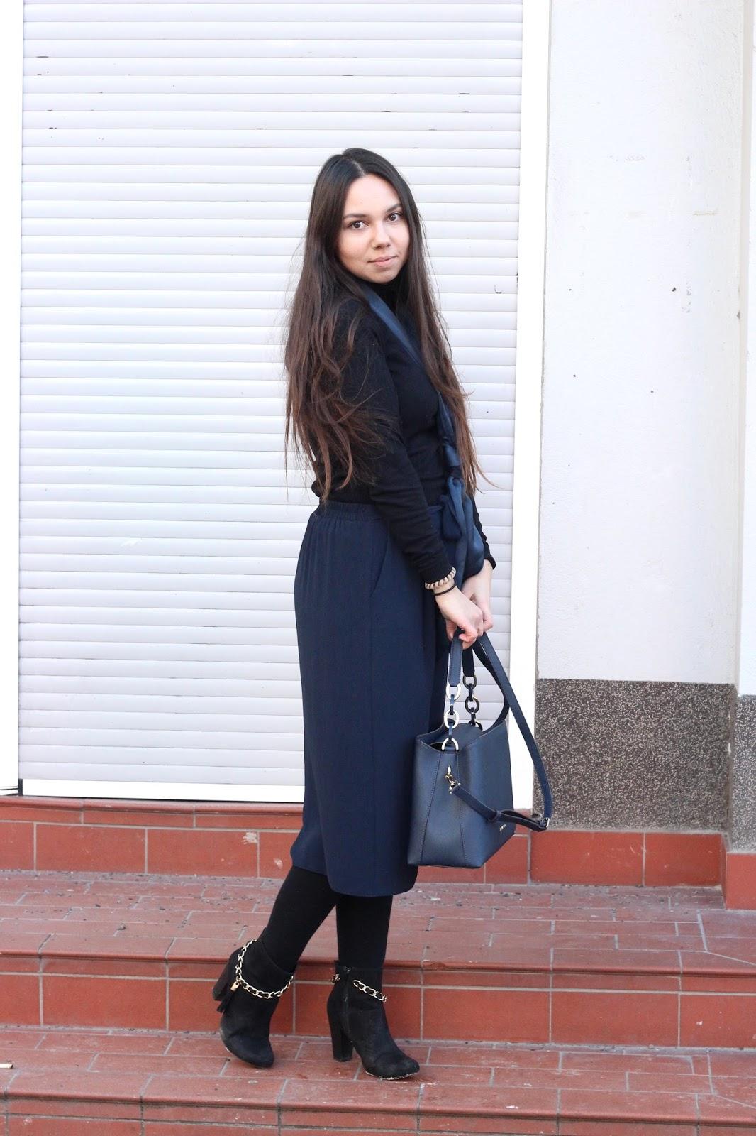 wie trägt man culottes im winter