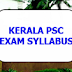 KERALA PSC CHEMICAL  ASSISTANT - GROUND WATER DEPARTMENT - FULL SYLLABUS