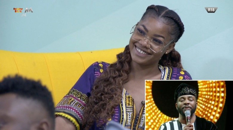 Funny Reactions After Ebuka Asked Tacha Three Characteristic Of A Winner