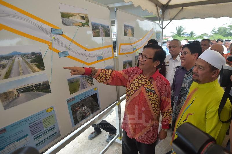 Pembinaan Kuala Terengganu Bypass 70 Peratus Siap