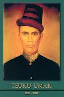 gambar-foto pahlawan nasional indonesia, Teuku Umar
