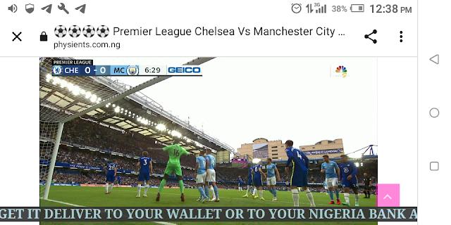 ⚽⚽⚽⚽ Premier League Chelsea Vs Manchester City Live HD ⚽⚽⚽⚽