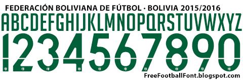 Free Football Font