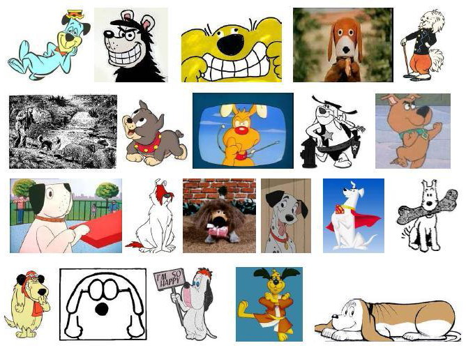 Cartoon Character Picture Round Quiz | secondtofirst com