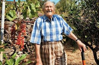 Οι γιατροί του έδιναν 9 μήνες και του πρότειναν χημειοθεραπείες. Αυτός πήγε στην Ικαρία και έζησε μέχρι τα 102