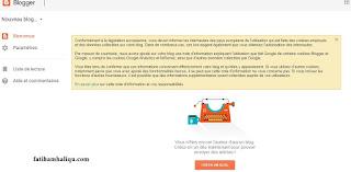 خطوات انشاء مدونة بلوجر احترافية