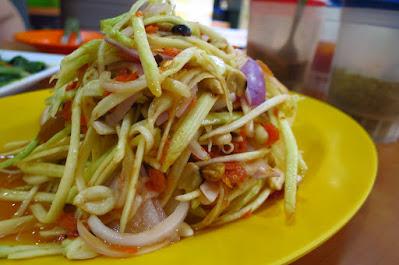 Nana Original Thai Food, som tam mamuang