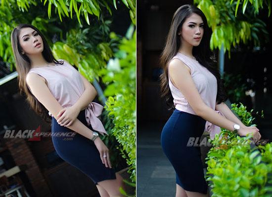 Foto Seksi Hot Elsya Agnesya Kalangi, Istri Muda Ir Dodi Triono